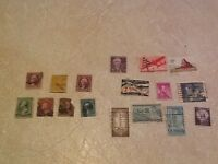 STAMP WASHINGTON 2 Cent 1887 1910 1916 Grant 1895 Oil 1859-1959 4H 1950 airmail