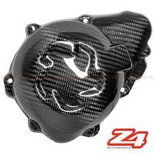 2010-2016 Z1000 Left Engine Generator Case Cover Guard Fairing Cowl Carbon Fiber