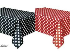 2 Mickey Minnie Polka Dot Table Covers Birthday Ladybug Red & Black Party Supply