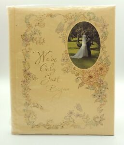 Vintage Hallmark Wedding Memory Book We've Only Just Begun Roger Nichols 1976