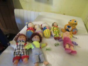 Toy Dolls & Plush Figures Bundle