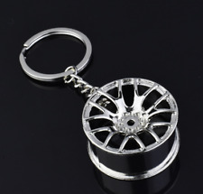 NEW Car Parts Key Chain Engine Turbocharger Key Ring Pendant Metal Keychain
