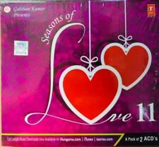 SEASONS OF LOVE 11 ROMANTIC SONGS - 2 CD BOLLYWOOD COMPILATION SET - FREE POST