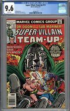 Super-Villain Team-Up #13 CGC 9.6 NM+ WHITE PAGES