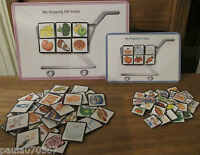 Special Needs Shopping Game / Communication. Colour cards. 1 - 3 Players per set
