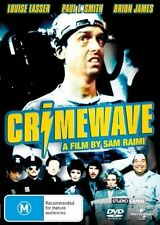 Crimewave (Louise Lasser & Paul L. Smith) DVD *BRAND NEW / SEALED* (Region 2/4)