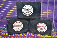 LOT OF 10 BLACK BLEACHING SOAP 135g.