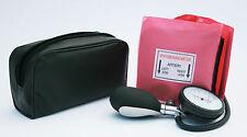 Pink Aneroid Blood Pressure Monitor - Sphygmomanometer Adult Cuff
