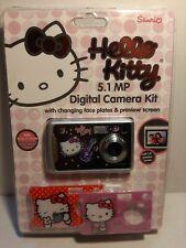 Hello Kitty 5.1 MP Digital Camera Sakar Sanrio NEW photo editing software  Video
