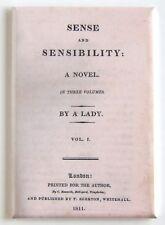 Sense and Sensibility FRIDGE MAGNET (2 x 3 inches) first edition jane austen