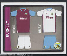 Panini football 2011 championnat autocollant-nº 34-burnley kit