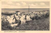 AK Ostseebad Lubmin i. Pommern Strandleben Postkarte vor 1945