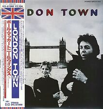 WINGS  PAUL MCCARTNEY LONDON TOWN CD MINI LP with OBI BOOKLETS