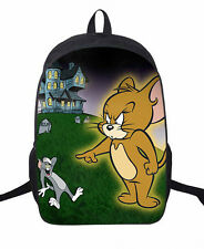 Tom and jerry big mouse shoulder bag backpack Leisure unisex bag school bags new