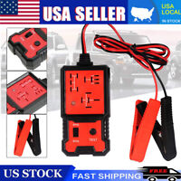 12V Electronic Automotive Relay Tester For Cars Auto Battery Checker Repair Tool