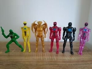 Power rangers tv movie video game action figures.