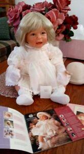 "Lee Middleton 22"" American Beauty by Reva Schick Vinyl & Cloth Doll NIB"