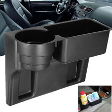 Universal Black Cup Holder Drink Beverage Seat Seam wedge Car Auto Truck Mount