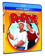 Popeye (1980) BLU-RAY ONLY + CASE + ARTWORK *** Disc has never been watched ***