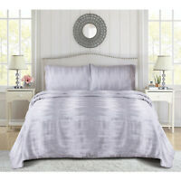 3 Piece Quilted Bedspread Bed Throws Double Super King Bedding Sets Pillow Cases