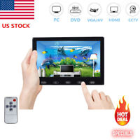 "US- 7""/9""/10"" CCTV Monitor PC Screen AV RCA VGA HDMI 1080p for DSLR Raspberry Pi"