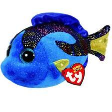 Ty Beanie Babies 37243 Boos Aqua El Pez Azul Boo