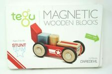 Tegu Daredevil Magnetic Wooden Block Set 12 Piece