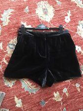 JACK WILLS Velvet Shorts Size 14 Immaculate