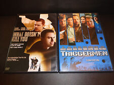 WHAT DOESN'T KILL YOU & TRIGGERMEN-2 DVDs-Donnie Wahlberg, Mark Ruffalo, E Hawke