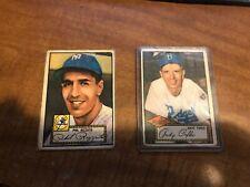 1952 Topps Baseball #01-128. Pick your card! Free Shipping! PR-VG/EX