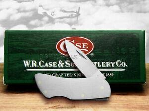 Case xx Small Executive Lockback Knife Brushed Steel Pocket 07205