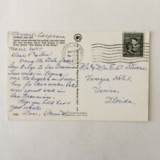 Cypress and Sea Postmark Carmel California 1967 Posted Postcard
