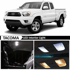 9x White Interior LED Lights Replacement Package Kit Fit 2005-2015 Toyota Tacoma