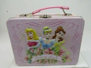 Disney Princess Petals Collectible Metal Lunch Box