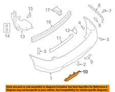NISSAN OEM Front Bumper-Bumper Cover Screw 085666252A