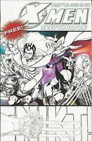 Astonishing X-Men Amazing Spider-Man The Gauntlet Sketchbook Comic Special 2009