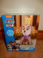 GEMMY SKYE PAW PATROL INFLATABLE 4 FEET BRAND NEW FREE USPS SHIPPING