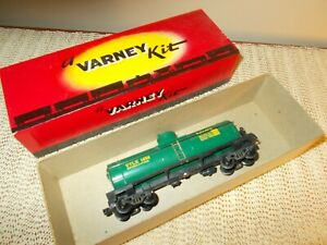 1957 VARNEY T-8 BAY-SOL TANK CAR, IOB,  EXCELLENT