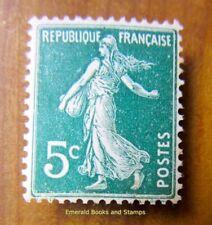 EBS France 1907 Type Semeuse camée 5 centimes YT 137 MH* 0566