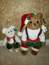 Christopher Chrismouse Christmas Bearington Bear and Colby Mouse Set New w/Tags