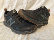 NEW BALANCE FRESH FOAM GOBI TRAIL HIKING SHOES MEN'S 9 BLACK BROWN