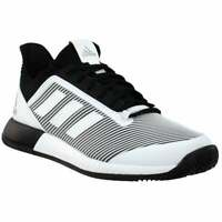 adidas Defiant Bounce 2 W   Womens Tennis Sneakers Shoes Casual   - Black - Size