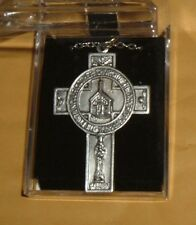 PORTIUNCULA PENDANT RARE  Franciscan St Saint Francis Lady of Angels Church NEW