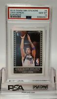 2019 Panini Nba Stickers Luka Doncic 2nd yr Rookie European psa 10 GEM MINT 💎