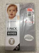 Bonds Zip Wondersuit Size 1 12-18 Months BNIP