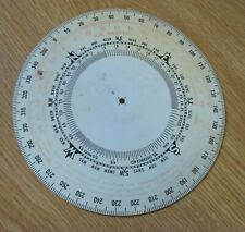 1938 SS Harvard Steering Compass Backing Plate Vintage Steamship Part old