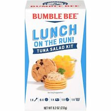 BUMBLE BEE Lunch on The Run Kit, Tuna Salad, Good Source of Protein, 8.2...