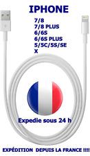 CHARGEUR CABLE USB APPLE iPHONE X/8/7/6/6S/5/5S/5/C/SE IPAD/IPOD NANO LIGHTNING