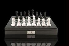 New Dal Rossi Monochrome Carbon Fiber Board game