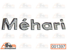 MONOGRAMME NEUF (STICKER) pour coffre / malle de Citroen MEHARI  -1397-